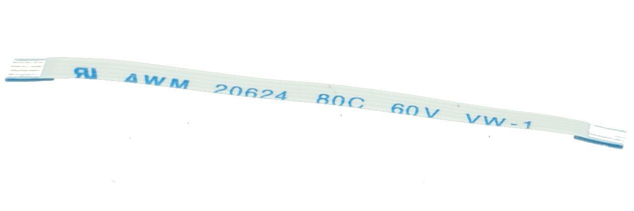 FFC Cable - Ribbon 4 PIN, 0.5mm Pitch (50mm), C TYPE - UNBRANDED 10029
