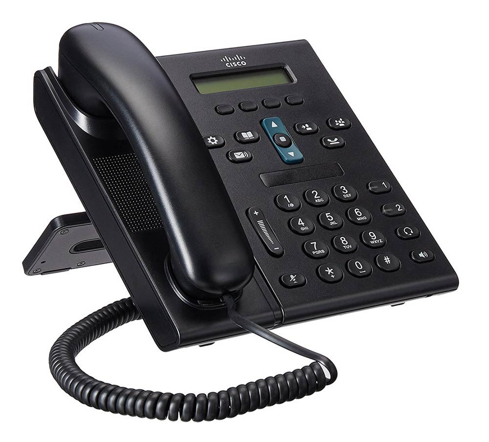 CISCO used Unified IP Phone CP-6941-C-K9, Black - CISCO 11573