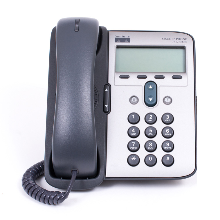 CISCO used Unified IP Phone 7912G, γκρι/ασημί - CISCO 25785
