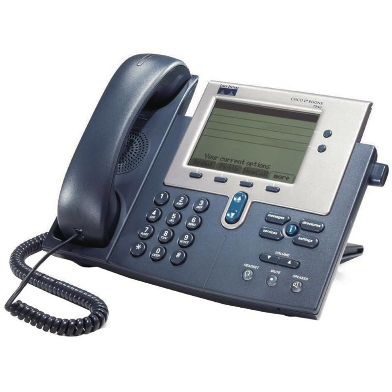 CISCO used IP Phone CP-7940G, Dark Gray - CISCO 9617