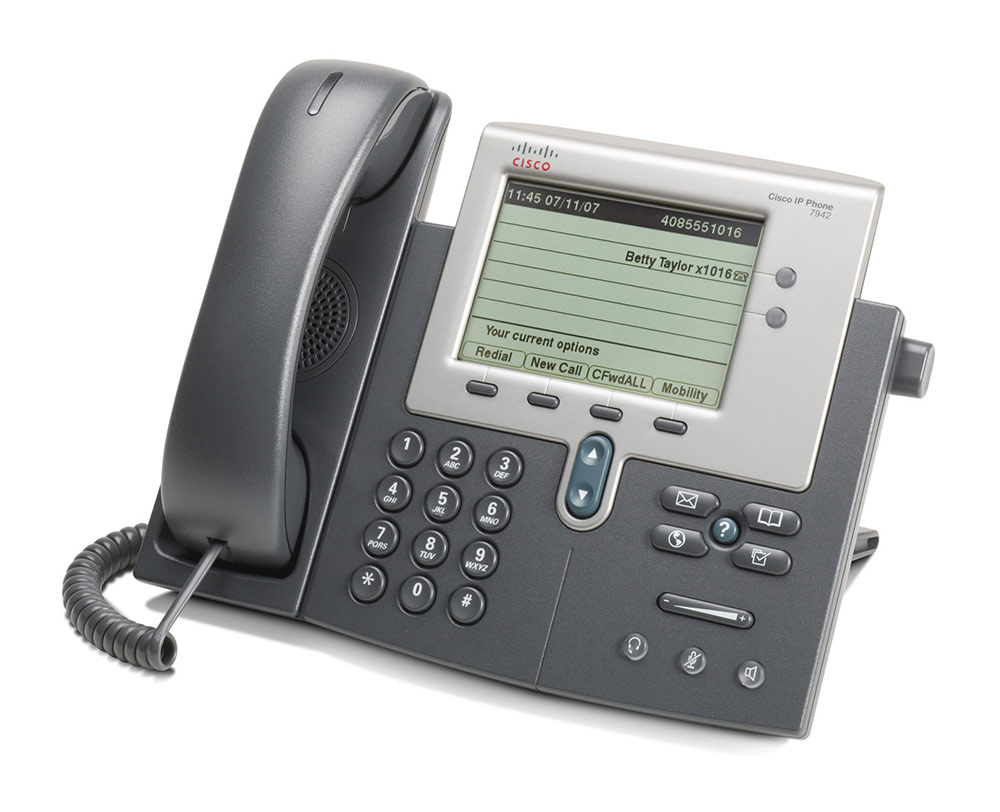 CISCO used IP Phone 7942G, Dark Gray - CISCO 16508