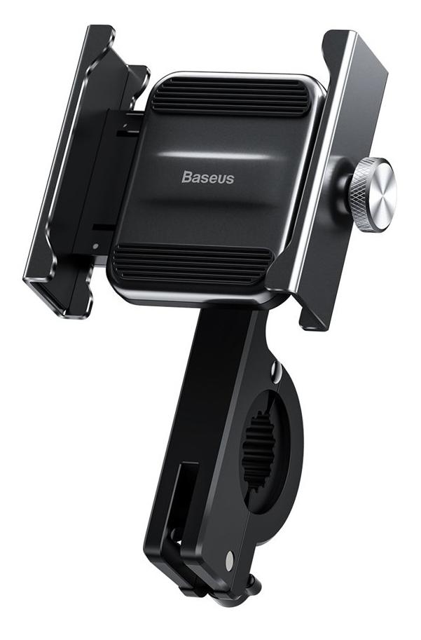 BASEUS βάση μηχανής για smartphone CRJBZ-01 Knight, μεταλλική, μαύρη - BASEUS 27134