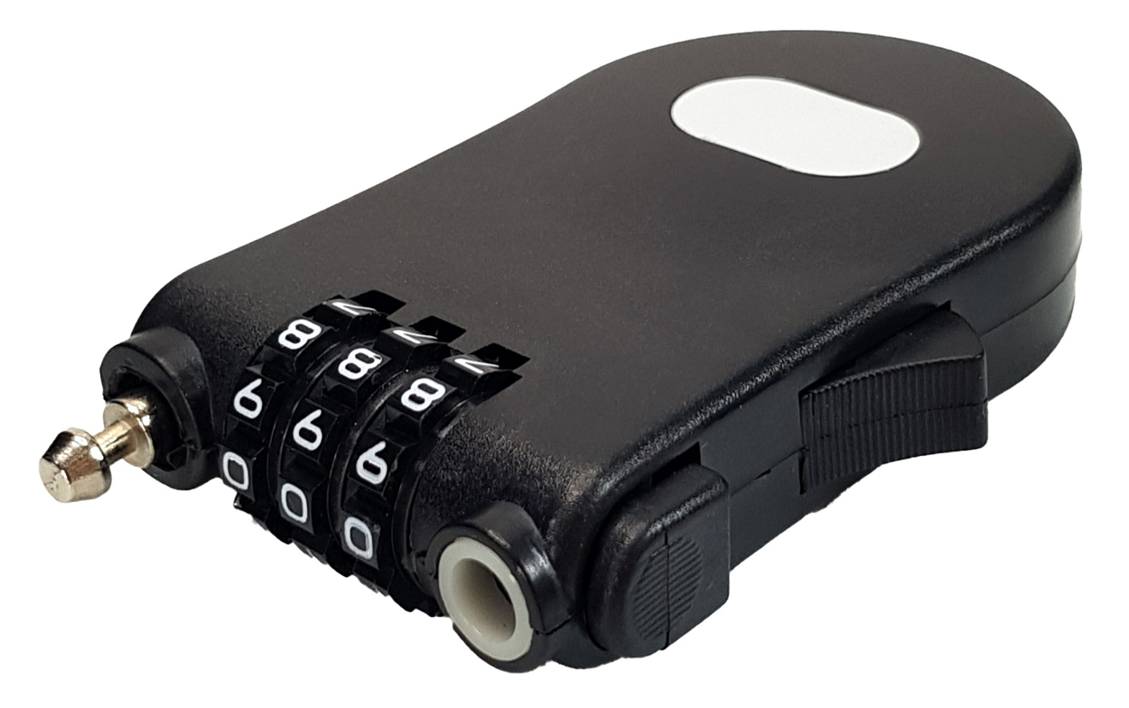 CTECH κλειδαριά ασφαλείας συνδυασμού CTL-0015, 3 ψηφίων, 70cm - C-TECH 36278
