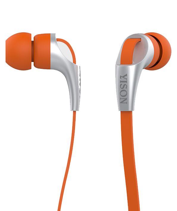 YISON ακουστικά HANDSFREE (ON/OFF) - ORANGE - YISON 4990