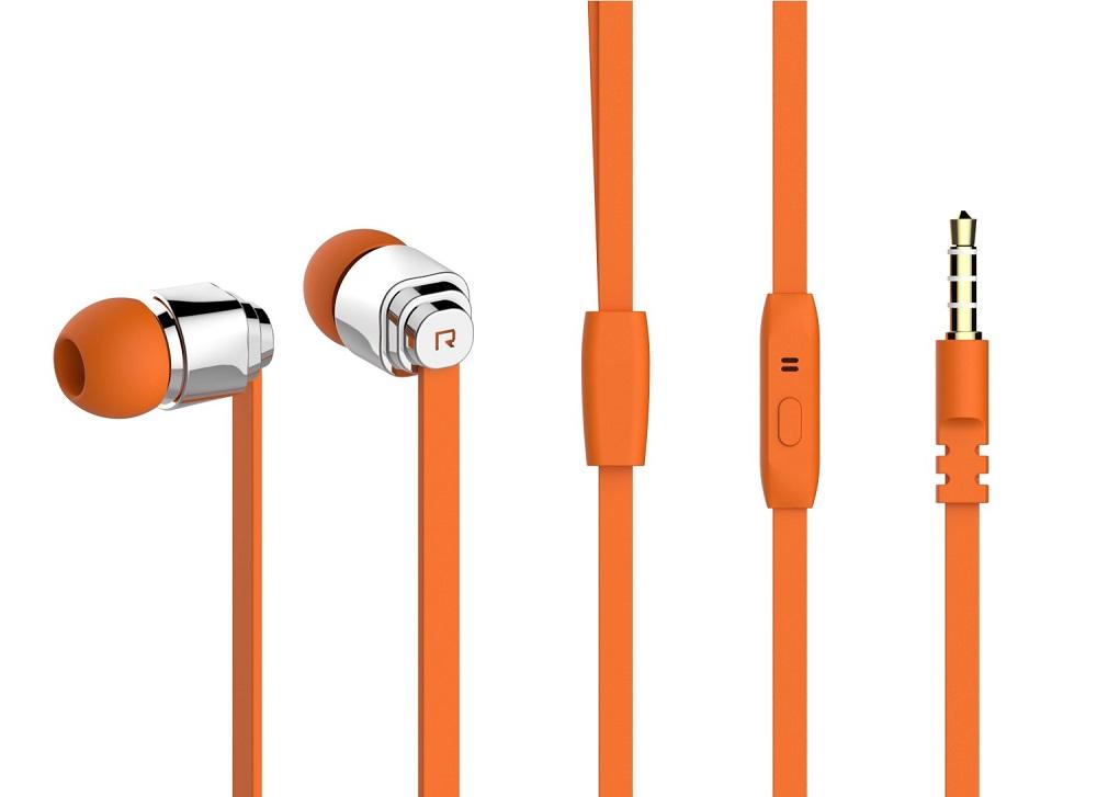 YISON Ακουστικά Handsfree CX460-O, On-Off, Orange - YISON 7108
