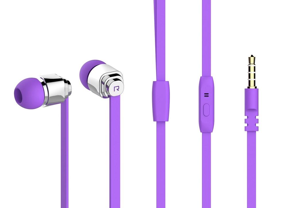 YISON Ακουστικά Handsfree CX460-PR, On-Off, Purple - YISON 7106