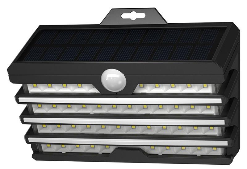 BASEUS LED ηλιακό φωτιστικό DGNEN-C01, 5.1W 260lm, 1800mAh, IP65, μαύρο - BASEUS 36656