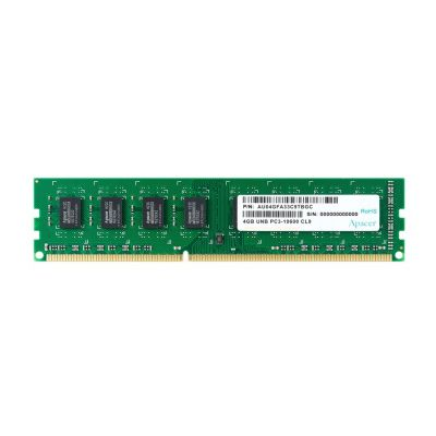 APACER Μνήμη DDR3 UDimm, 4GB, 1333MHz, PC3-10600 - APACER 21621