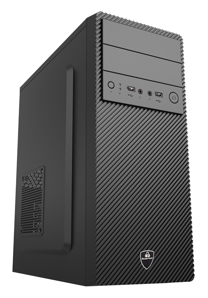 POWERTECH PC DMPC-0017 Ryzen 3 1300X, DDR4 4GB, 1TB HDD, VGA GT710 - POWERTECH 27765