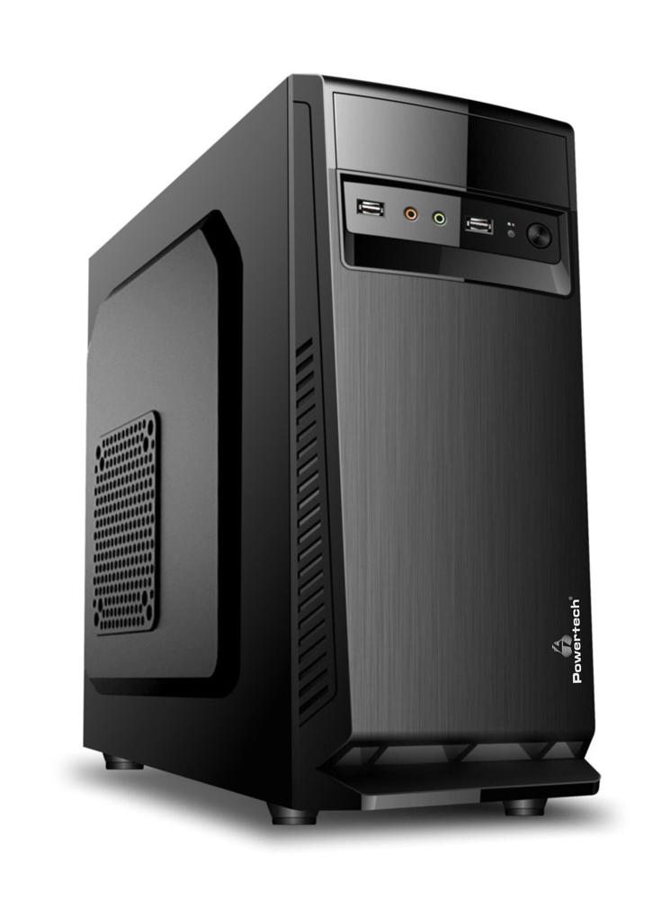 POWERTECH PC DMPC-0070 AMD CPU Ryzen 5 2600X, SSD 240GB, 8GB, RX550 - POWERTECH 37847