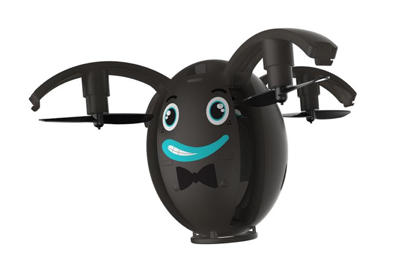 BIGBEN Drone Egg one, bluetooth, easy fly, stabiliser, μαύρο - BIGBEN 18491