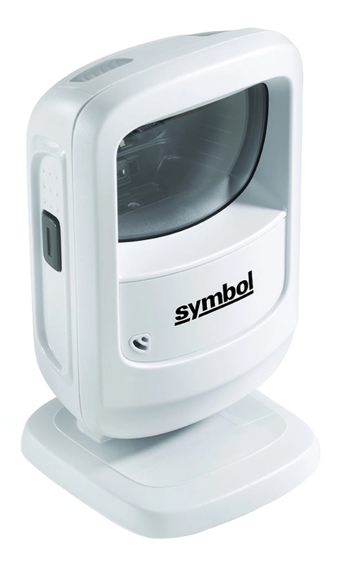 SYMBOL used barcode scanner DS9208, 1D, 2D & PDF417, λευκό - SYMBOL 41928