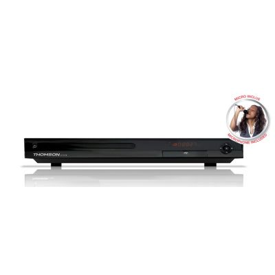THOMSON DVD Player DVD80K με μικρόφωνο, Full HD, USB, μαύρο - THOMSON 18518