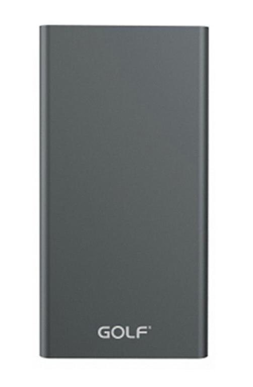 GOLF Power Bank Edge 5 5000mAh, Ultra-thin, 1x USB, Micro - 8pin, γκρι - GOLF 18126