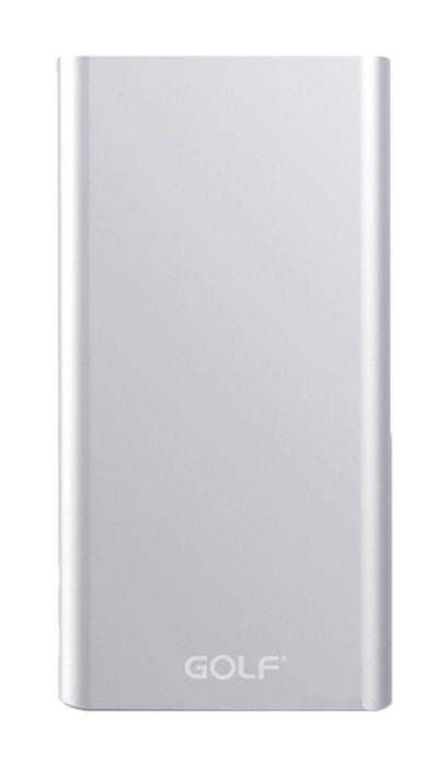 GOLF Power Bank Edge 5 5000mAh, Ultra-thin, 1x USB, Micro - 8pin, Silver - GOLF 17067