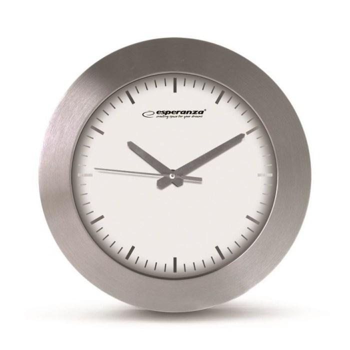 ESPERANZA ρολόι τοίχου Houston EHC011W, λευκό - ESPERANZA 23122