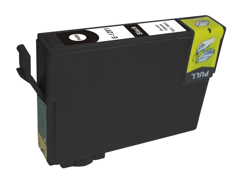 Συμβατό Inkjet για EPSON T1281, 10.5ml, Black - PREMIUM 14016