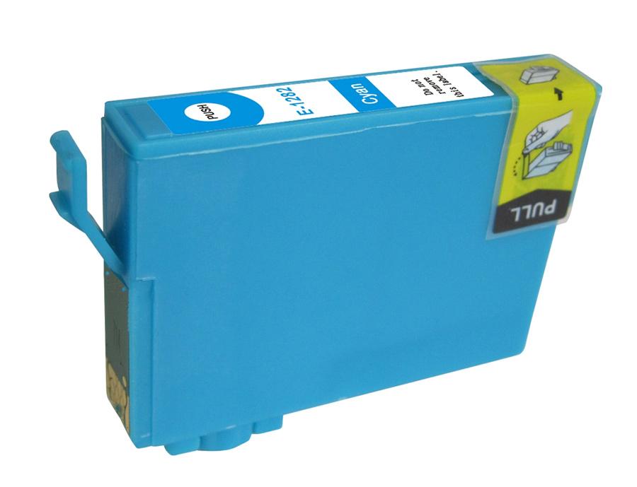 Συμβατό Inkjet για EPSON T1282, 8ml, Cyan - PREMIUM 14017