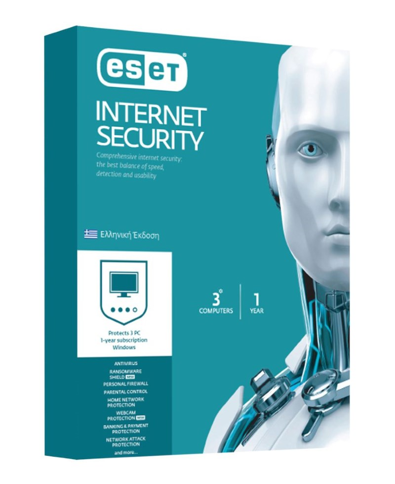 ESET Internet Security 3 Computers, 1 year - ESET 14736