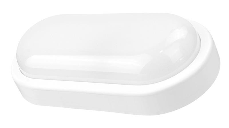 POWERTECH LED φωτιστικό τοίχου EXTL-0005, αισθητήρας κίνησης, 15W, λευκό - POWERTECH 35404