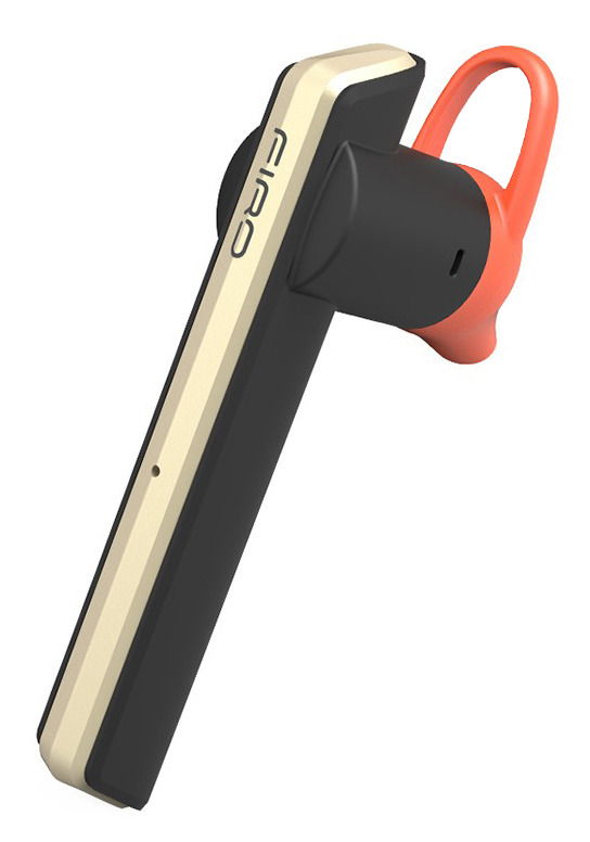 FIRO Bluetooth earphone Fi-3 με υποστήριξη έως 2 συσκευές, Gold - FIRO 15427