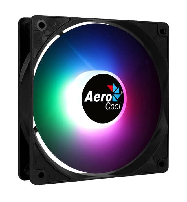 AEROCOOL LED ανεμιστήρας FROST-12, molex + 3-Pin connector, 120mm, FRGB - AEROCOOL 43091