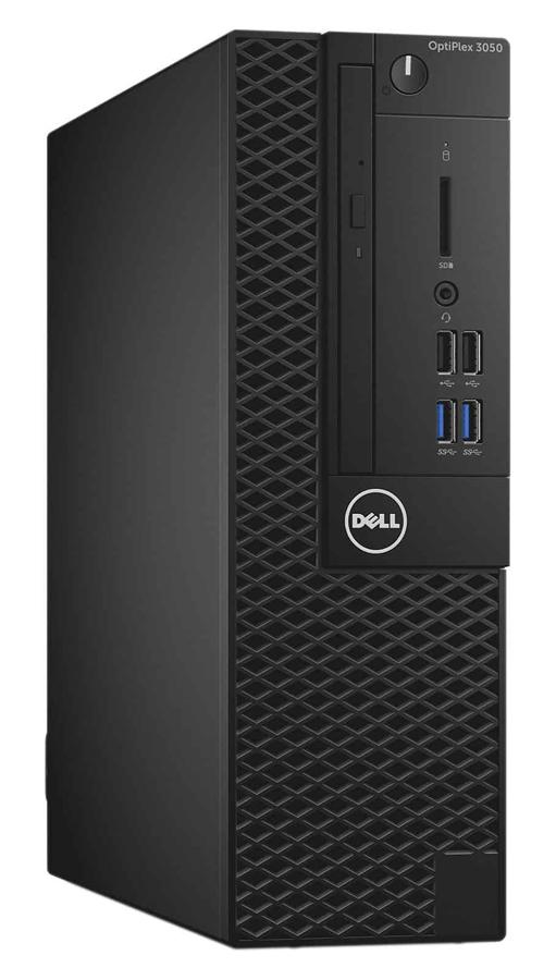 DELL PC 3050 SFF, i5-7500, 4GB, 128GB SSD, DVD-RW, Win 10 Pro, FR - DELL 42212