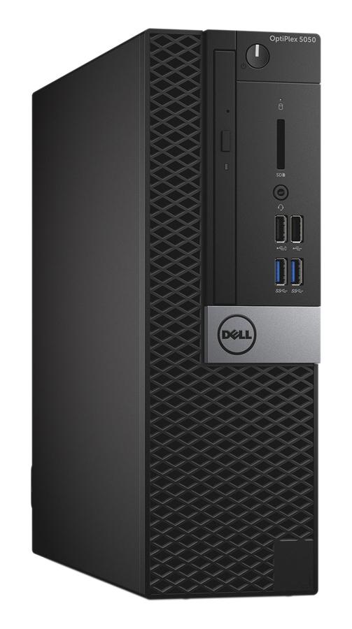 DELL PC 5050 SFF, i5-7600, 8GB, 128GB SSD, DVD-RW, Win 10 Pro, FR - DELL 43467