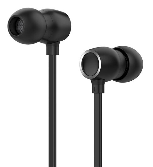 CELEBRAT earphones με μικρόφωνο G10, 10mm, 3.5mm, 1.2m, μαύρα - CELEBRAT 30599
