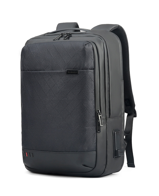 ARCTIC HUNTER τσάντα πλάτης GB00328 με θήκη laptop, USB & 3.5mm, grid - ARCTIC HUNTER 25952
