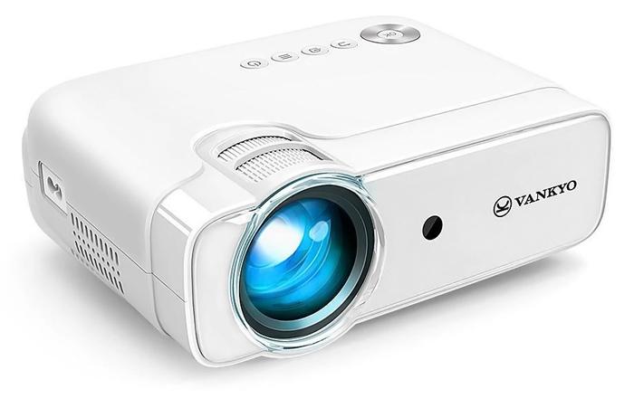 VANKYO LED βιντεοπροβολέας Leisure430, 1080p, ηχεία, λευκό - VANKYO 34470