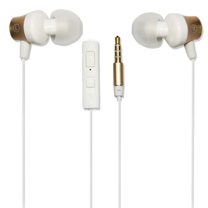 GOLF Earphones M2 Baroque, Gold - GOLF 11343