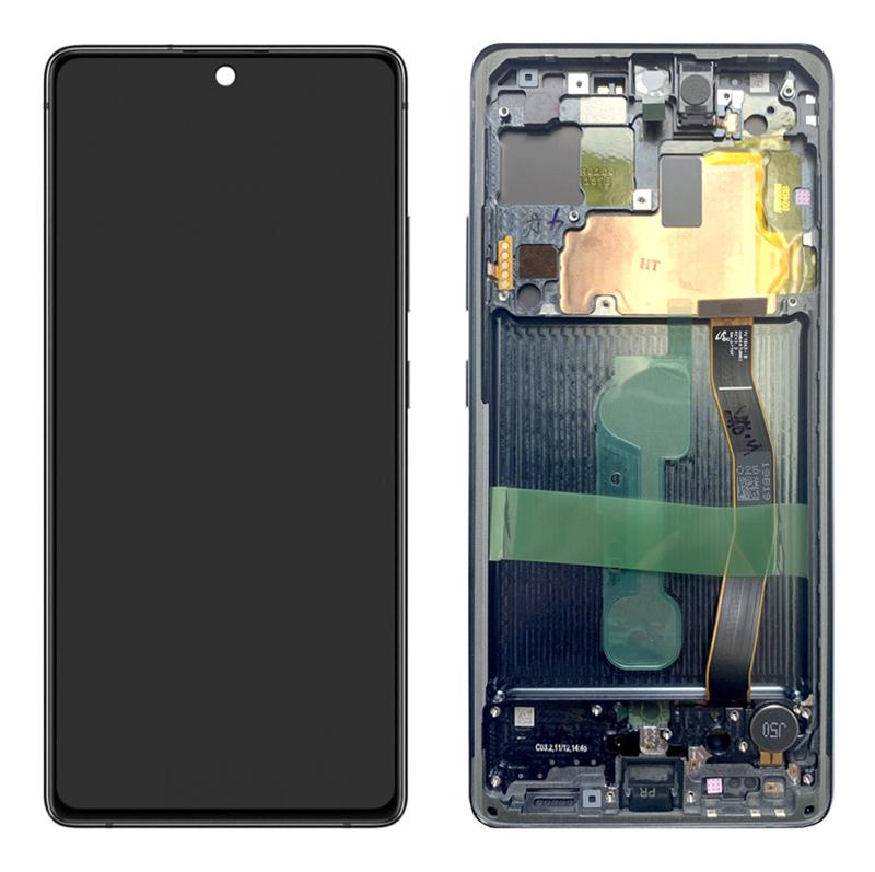 SAMSUNG Original LCD Touch Screen GH82-21992A, S10 Lite G770F, μαύρη - SAMSUNG 30184