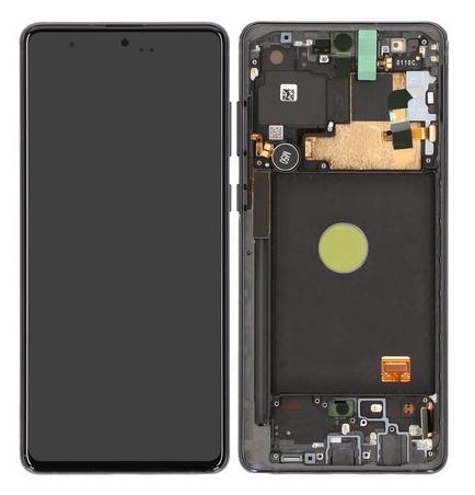 SAMSUNG Original LCD Touch Screen GH82-22192A, Note 10 Lite N770, μαύρη - SAMSUNG 30183