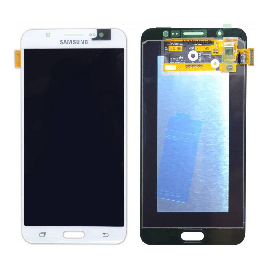 SAMSUNG Original LCD & Touch Panel για Galaxy J7 2016 J710F, White - SAMSUNG 22901