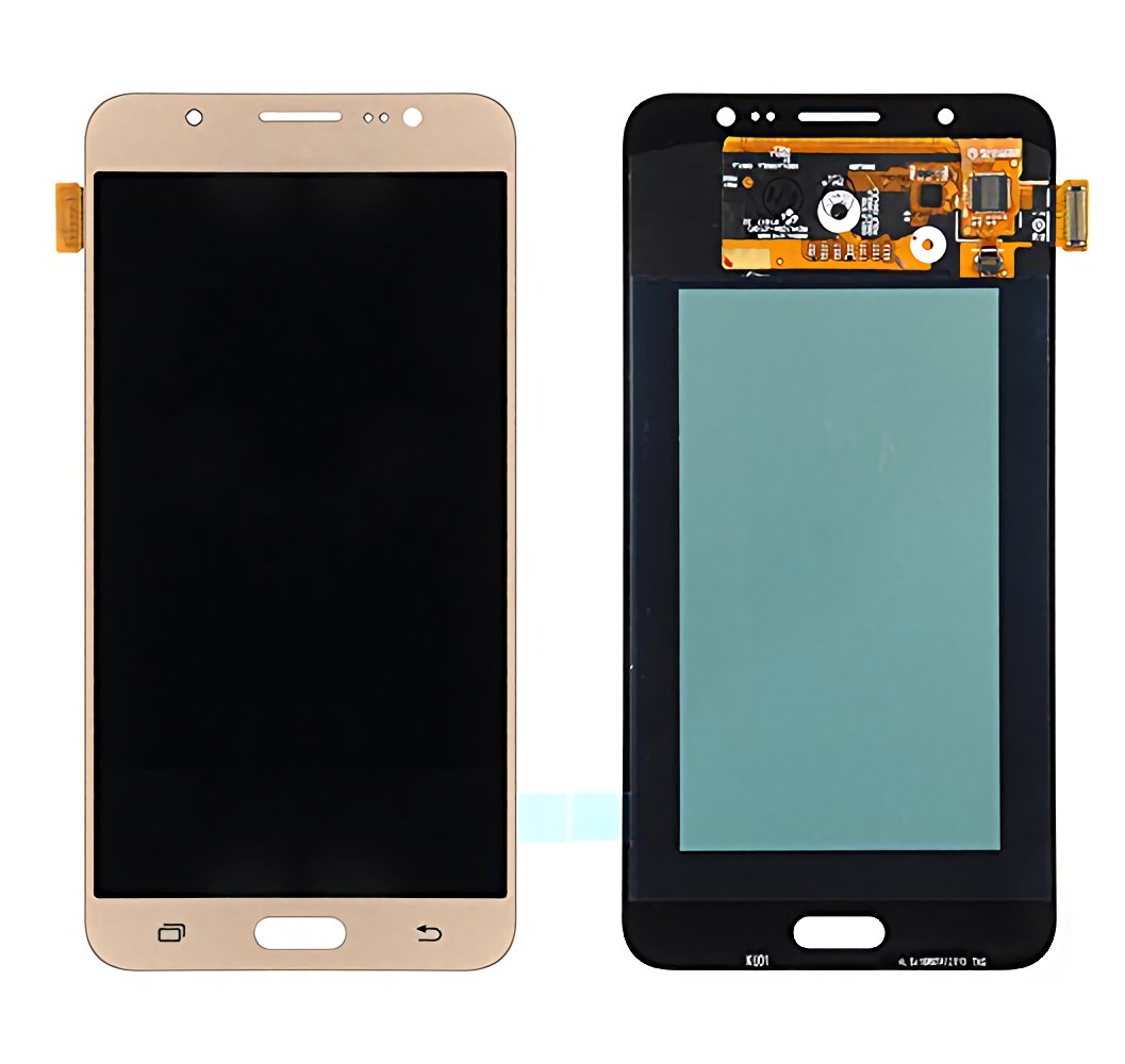 SAMSUNG LCD Original & Touch Panel για Galaxy J7 2016 J710F, Gold - SAMSUNG 24319