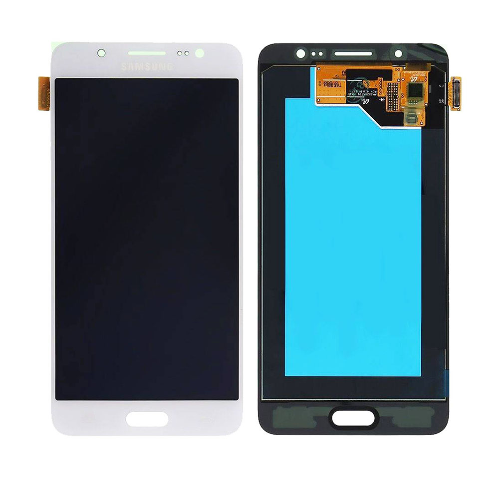 SAMSUNG Original LCD & Touch Panel για Galaxy J5 2016 J510F, White - SAMSUNG 22902