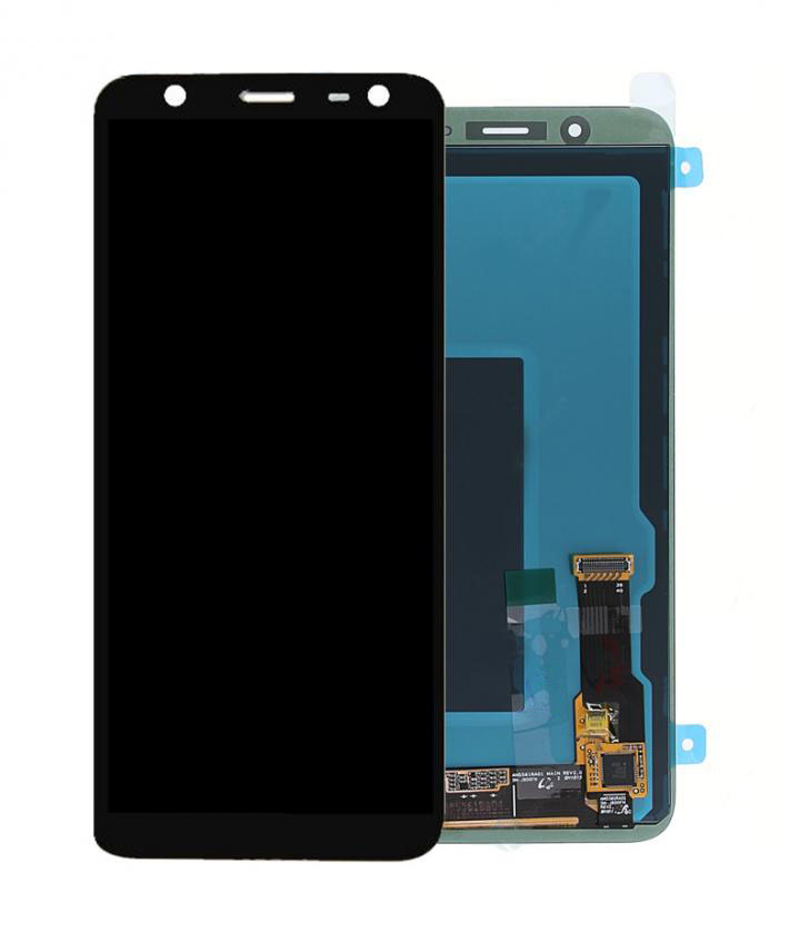 SAMSUNG Original LCD & Touch Panel για Galaxy J6 2018 J600F, Black - SAMSUNG 22897