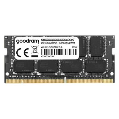 GOODRAM Μνήμη DDR3L SODimm GR1333S3V64L9-4G, 4GB, 1333MHz PC3-10600, CL9 - GOODRAM 28818