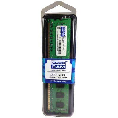 GOODRAM u-dimm μνήμη τύπου (256 X 8) DDR3, 4GB , 1600 MHZ, 12800 - GOODRAM 2052