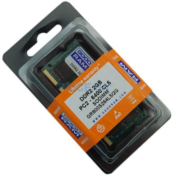 GOODRAM so-dimm μνήμη τύπου DDR2, 2GB , 800 - GOODRAM 1798
