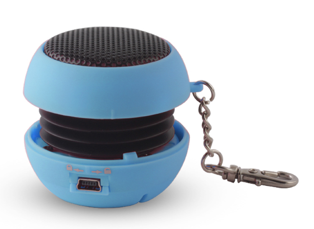 SETTY Speaker Pocket, 2.5Watt, 3.5mm jack, 180mAh, Blue - FOREVER 14797