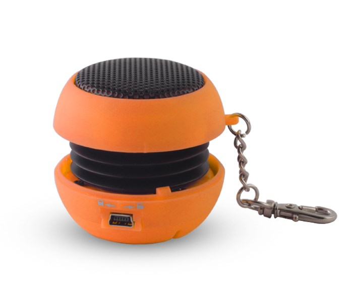 SETTY Speaker Pocket, 2.5Watt, 3.5mm jack, 180mAh, Orange - SETTY 17223