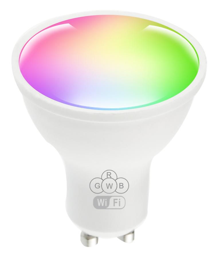 POWERTECH Smart λάμπα LED GU10-001, Wi-Fi, 5W, GU10, RGB 2700-6500K - POWERTECH 42291
