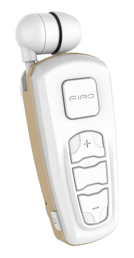 FIRO bluetooth earphone H103, Bluetooth 4.2, λευκό - FIRO 30455