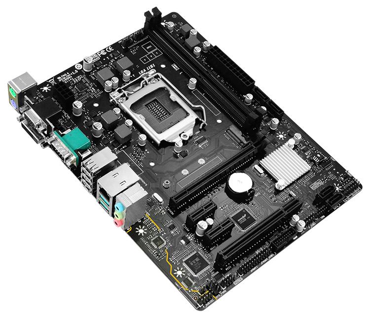 BIOSTAR μητρική H310MHG, 2x DDR4, s1151, USB 3.2, mATX - BIOSTAR 36061