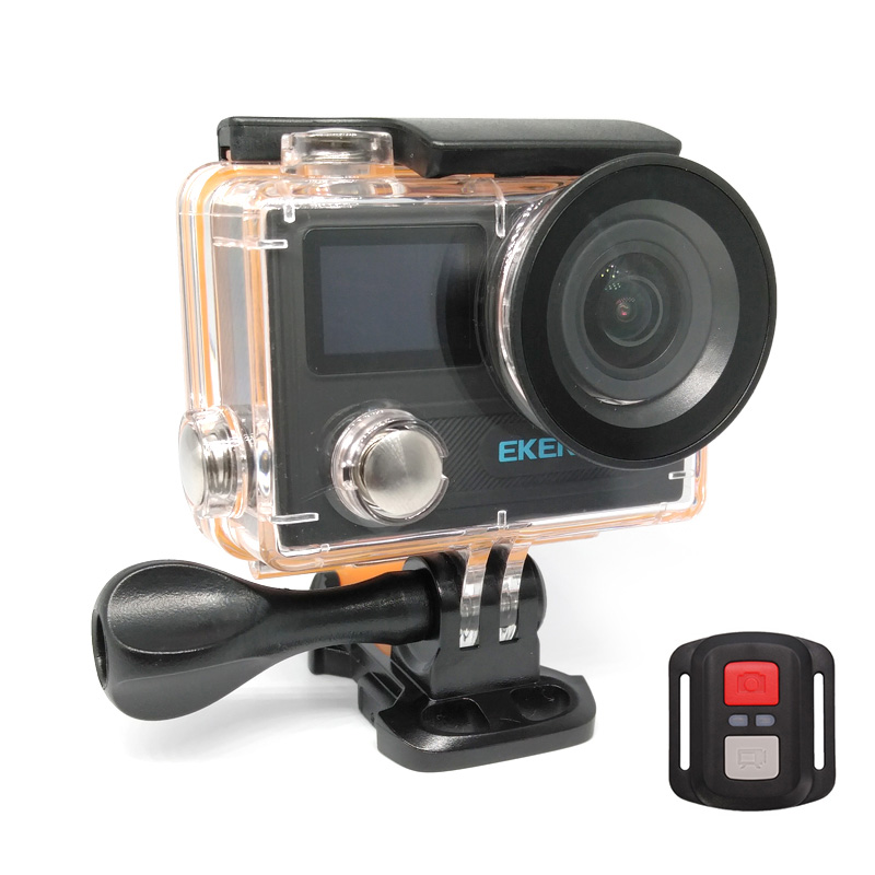 EKEN Action Cam H8R, UltraHD 4K 30fps, 14MP, WiFi, Waterproof, Black - EKEN 14936