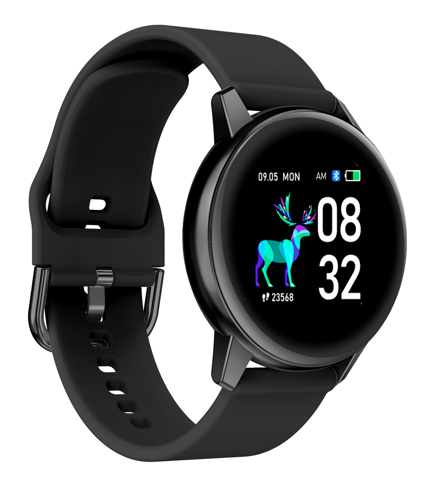 "HIFUTURE smartwatch HiMATE, 1.4"", IP68, heart rate monitor, μαύρο - HIFUTURE 34377"