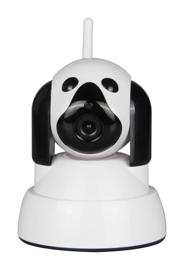 Κάμερα Baby Monitor Wi-Fi HIP322-1M-ZY με υπέρυθρα & ήχο 2 δρόμων, 720p - UNBRANDED 14097
