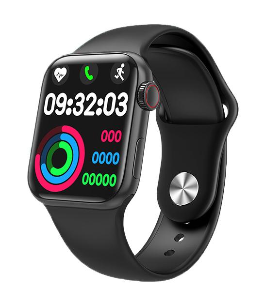 "HIFUTURE smartwatch HITime Mini, 1.57"", IP67, HR & Blood pressure, μαύρο - HIFUTURE 36408"